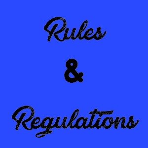 rules and regulations for crafters